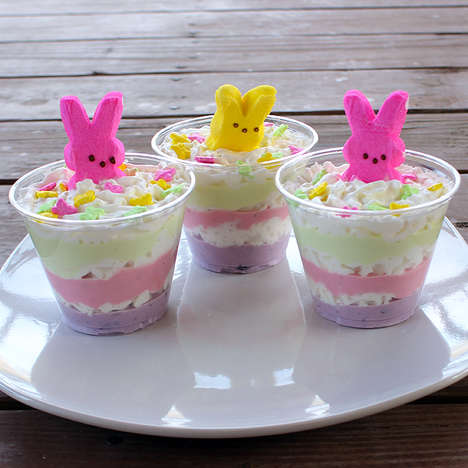 Festive Greek Yogurt Desserts - These Healthy Easter Treats are Made Using Alternative Ingredients