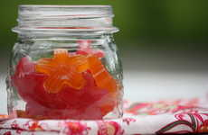 Naturally Flavored Gummies - This Sour Gummy Snack Recipe Contains Fruit Juice and Grass-Fed Gelatin
