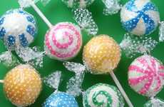 Bonbon Cake Pops - These Deceiving Cake Lollipops Look Like Retro Candy Mints