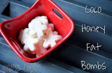Healthy Coconut Oil Candies - The Homemade Honey Fat Bombs are Filled With Wholesome Saturated Fats