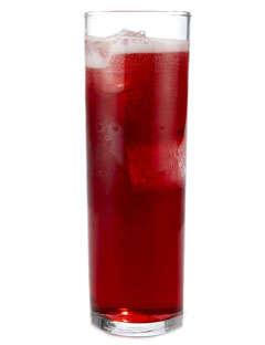 Festive Scarlet Champagne Cocktails
