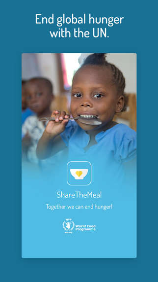 Charitable Meal-Sharing Apps - This App Collects Smartphone Donations to Help Feed Starving Children