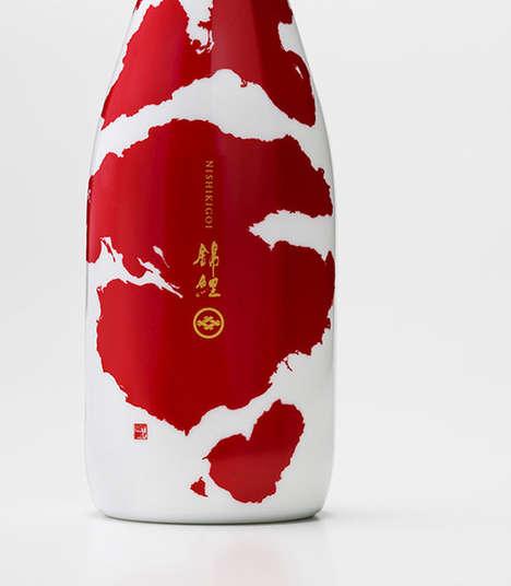 Koi Fish Beverage Branding