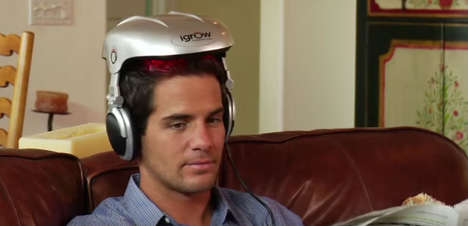 Stimulating Hair Helmets - The iGrow Hair Growth System Boosts Follicle Thickness and Strength