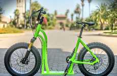 Hybrid Bicycle-Scooters - The Moox Brings Together the Best Features of Bicycles and Scooters