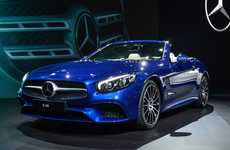 Updated Drop-Top Cars - This Reimagined Mercedes SL Features Updated Suspension Technology