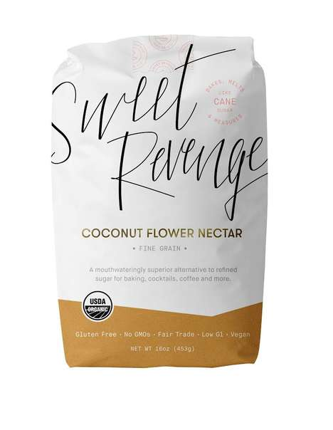 Natural Coconut Sweeteners - Sweet Revenge is a Sugar Alternative Made from Coconut Flower Nectar