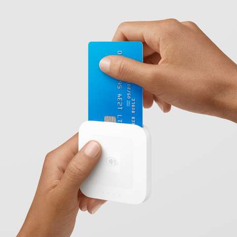 Wireless Transaction Devices - The Square Contactless and Chip Reader is an NFC Reader for Payments