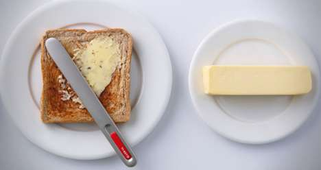 Self-Heating Butter Knives