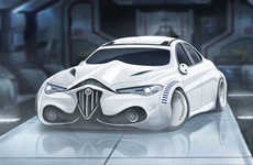 Sci-Fi Character Cars - These Sleek Sport Vehicles are Reimagined as Star Wars Movie Personalities