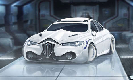 Sci-Fi Character Cars