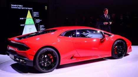 Futuristic Rengineered Supercars