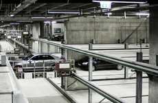 Robot-Operated Parking Lots