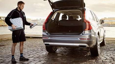 In-Car Delivery Services - Volvo's In-Car Delivery Lets You Have Products Delivered To Your Car