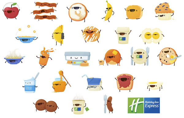 Breakfast Emoji Keyboards