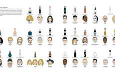 Drinking Encyclopedia Guides - The Visual Guide to Drink is an Illustrative Display of the Industry