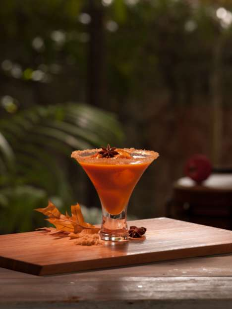 Mexican Pumpkin Cocktails