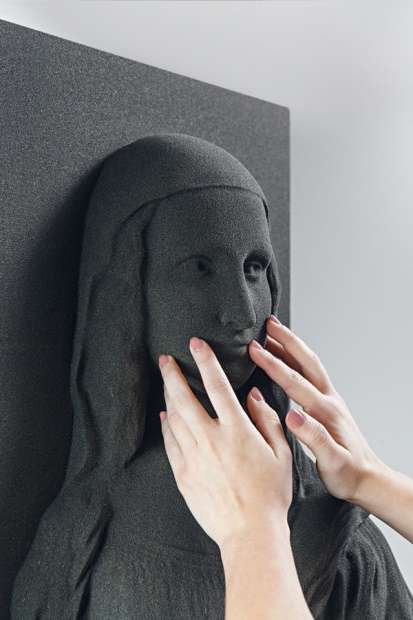 Tactile 3D-Printed Artworks
