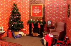 Cozy Holiday Lounges - Southern Comfort's Christmas Pop-Up is a Welcoming Place to Kick Back
