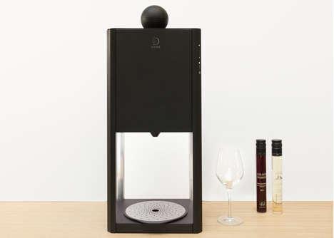 Tabletop Wine-Tasting Machines