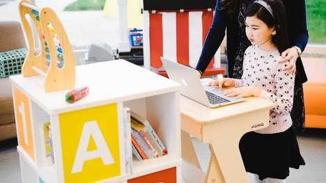 Child-Friendly Standing Desks