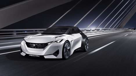 Aural Concept Cars - The Peugeot Fractal Uses Sound to Enhance Driver Experience