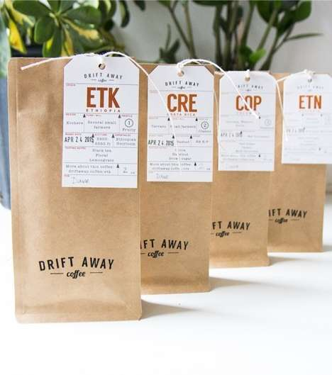 Coffee Subscription Services - Driftaway Coffee Subscriptions Make Thoughtful Holiday Presents
