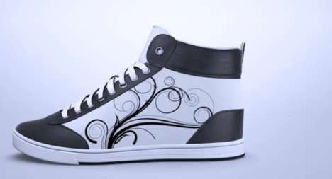 Smartphone-Customized Sneakers