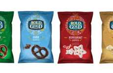 Flavored Holiday Pretzels