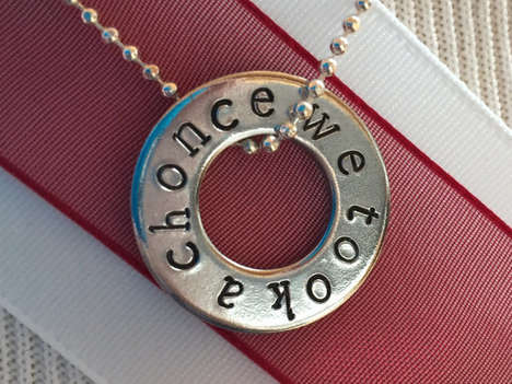 Referential Lyric Pendants