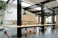 Industrial Footwear Studios - The New Clarks Originals Studio in Somerset Encourages Innovation