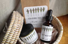 New Mom Survival Kits - Wild Seed Apothecary's Care Kit Features Soothing Teas and Remedies