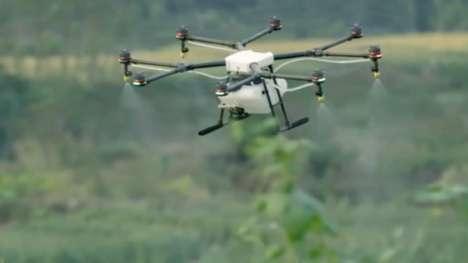 Crop-Dusting Drones