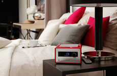 Gentle Wake Up Clocks - The sonoroRADIO Alarm Design Uses Sound to Put Consumers to Sleep