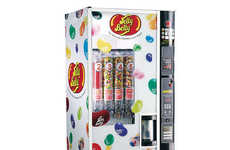 Robotic Candy Vending Machines - The Jelly Belly Vending Machine is Able to Hold 100lbs of Sweets