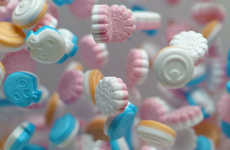 Candied Character Mints - The Frisk Neo Candy Tablets Take Design Inspiration from Works of Art