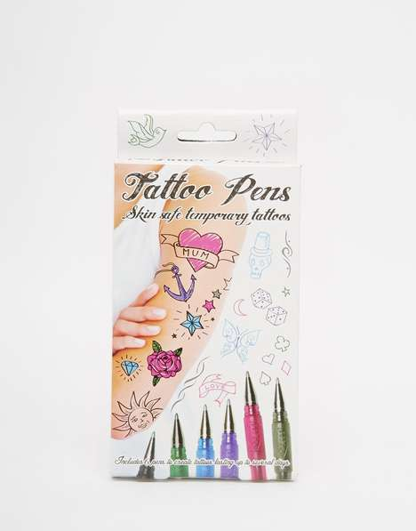 Temporary Tattoo Pens