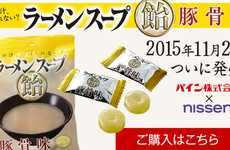 Ramen Broth Candy - Japanese Brand Nissen Offers Candied Mints Flavored Like Noodle Soup