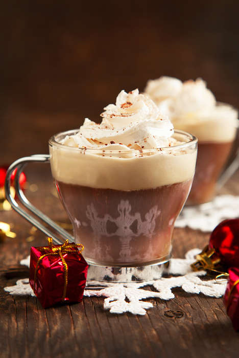 Chilled Gingerbread Cocktails