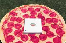 Pizza-Shaped Beach Towels - This Pizza Towel Promotes Fast Food Appreciation