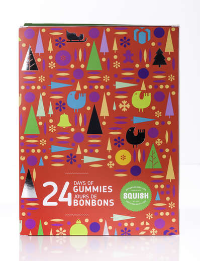 Gummy Advent Calendars - This Squish Advent Calendar for Kids is Filled with Gummy Candies