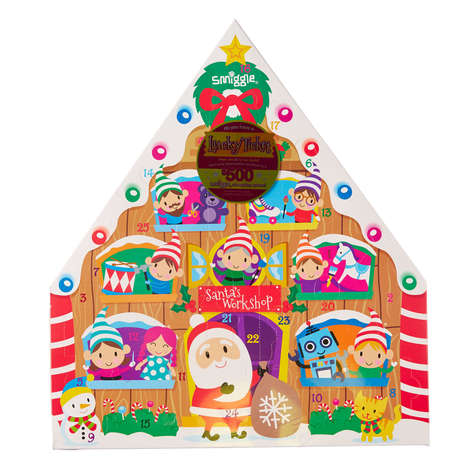 Stationery Advent Calendars - Smiggle's Advent Countdown Contains 25 Days of Stationery Gifts