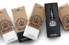 Chic Marijuana Vaporizer Branding - The Highlighter Cannabis Oil Vaporizer is for Discerning Smokers