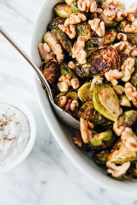 Nutty Brussels Sprout Dishes