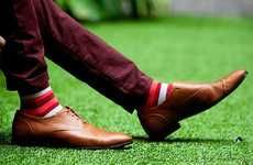 Sock Subscription Services - 'Sock Fancy' Delivers New Men's Socks Each and Every Month