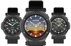 Fast Multitasking Smartwatches - The Omate Rise Android Smartwatch Provides Superior Performance