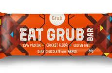 Cricket Flour Snack Bars - Grub's Healthy Snack Bars are Made with Fruits and Cricket Flour