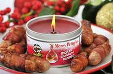 Food-Scented Christmas Candles