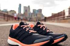 Feminine Running Shoes - The Adidas Supernova Glide Boost Lets Women Glide Through Their Runs