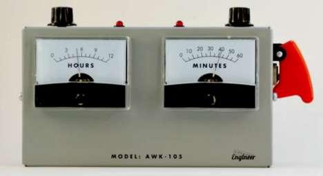 Industrial-Chic Clocks